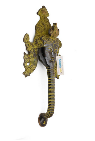 Antique Tara Buddha Head Brass Door Handle at Rs 999 set Brass