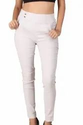 SBF Polyester Ladies Imported Stretchable Pants, Waist Size: 28 - 34