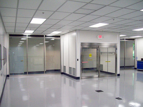 Clean Room With Negative Pressure Clean Air Systems