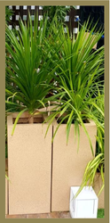 12 x 12 x 27 inch Plastic Garden Planters