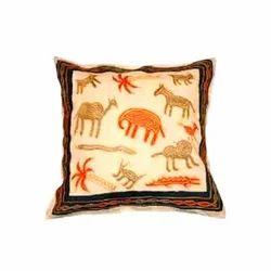 Zari Work Cushion Covers