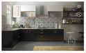 L-Shaped Wooden Kitchen