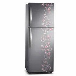 3 Star Gray Samsung Refrigerator, Double Door