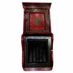 Wooden Emboss Letter Box