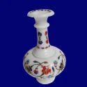 Italian Inlay Marble Vase