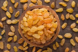 Packed Golden Raisins, Packaging Type: Packet, Packaging Size: 500g