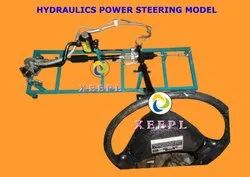 Cut Section Model of Hydraulics Power Steering