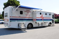 MOBILE BLOOD COLLECTION UNIT