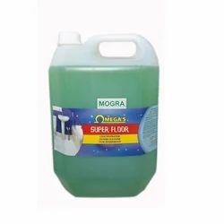 欧米茄绿色Mogra地板清洁剂,包装类型:罐头