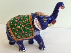 Trunk Up Elephant Meena Work