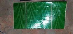 Bamboo Green Buffer Plate Raw Material, Capacity: 100, Paper GSM: 300