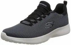 Skechers Men's Dynamight Black Walking Shoes, Model Name/Number: 58360-BLK