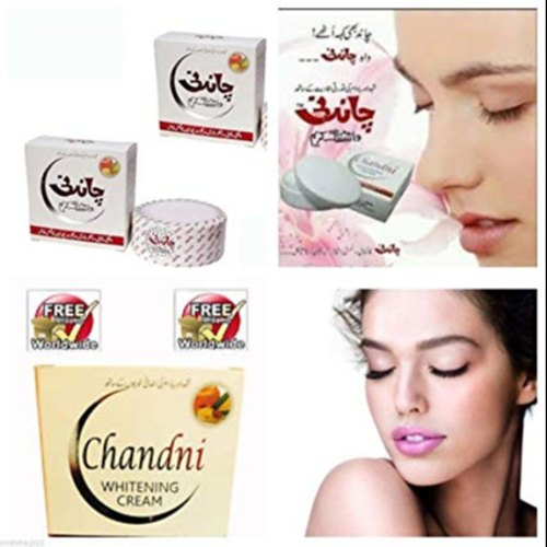 Chandni Whitening Cream Removes Acne, Wrinkles, Pimples, Dark Spots, Dark  Circles