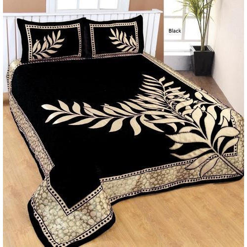 Leaf Design Printed Bed Sheet