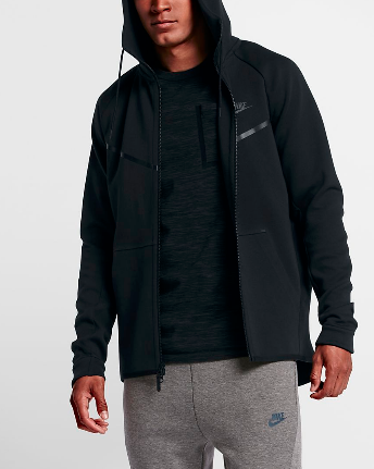 nike fleece windrunner