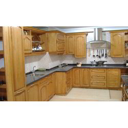 Rubber Wood Modular Kitchen At Rs 500 Square Feet Lakdi