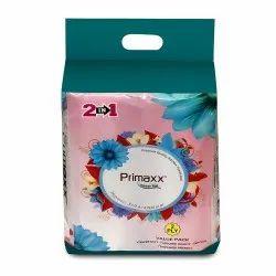 Primaxx 2 In 1 Kitchen Tissue Rolls, Kitchen Towel - 2 Ply, 100 Sheets