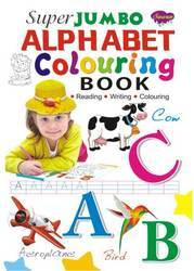 Super Jumbo Alphabet Colouring Book