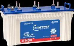 Mtek Microtek JT 2400T- 150Ah Inverter Battery, Warranty: 24+24* Months, 12 Volt