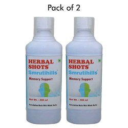 Memory Support Syrup - Smrutihills Herbal Shots 500 ml