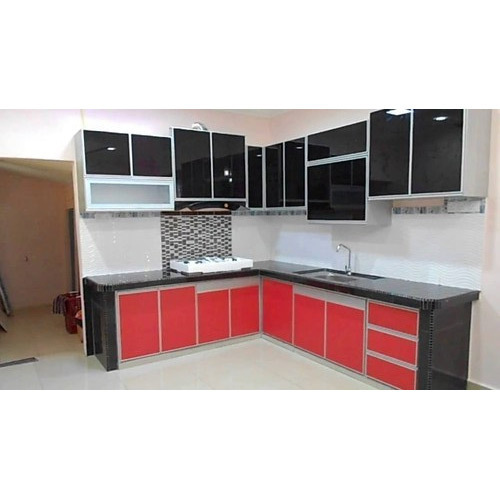 Aluminium Modular Kitchen At Rs 1100 Square Feet: Modern Aluminium Kitchen Cabinet, एल्युमिनियम की मॉड्यूलर