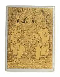 Hanuman - 24k Gold Wallet Card