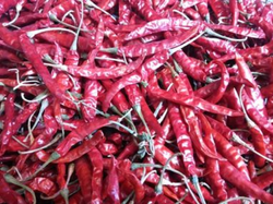 Teja Dried Red Chilli With Stem