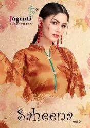 Jagruti Saheena Vol-2 Printed Cotton Dress Material Catalog Collection