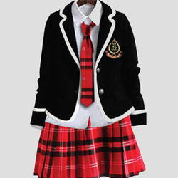 d70af5e1fd Blue And Options Available Cotton School Uniform For Girls