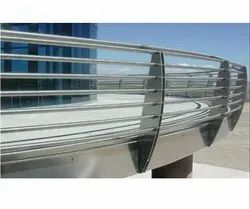 SS Tubular Railing Sections