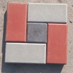 Concrete Rectangular, Square Interlocking Paver Block, Size: 5x10 inch, 5x5 inch etc, Thickness: 60 mm