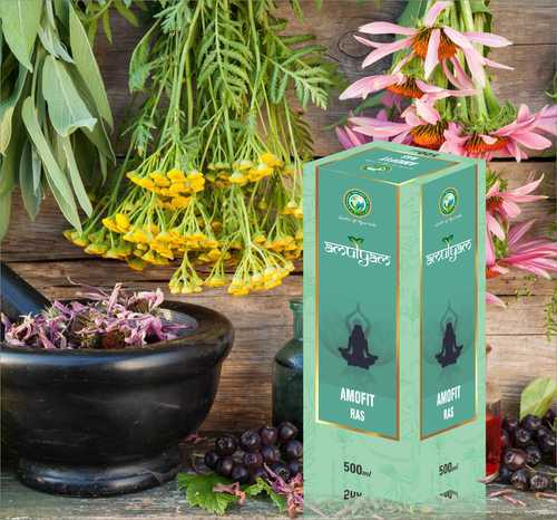 Amofit Ras / Fat loss Juice, Packaging Type: Boxl