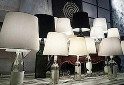 Rustic Wooden Table Lamps