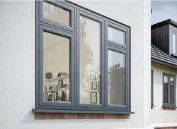 UPVC Glass Window, Glass Thickness: 5-30 Mm