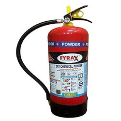 Mild Steel DCP 9 Kg Fyrax Dry Chemical Fire Extinguisher