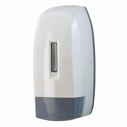 White And Gray Plastic Liquid Soap Dispenser