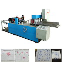 Automatic Paper Napkin Embossing Machine
