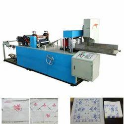 Automatic Paper Napkin Embossing Machine