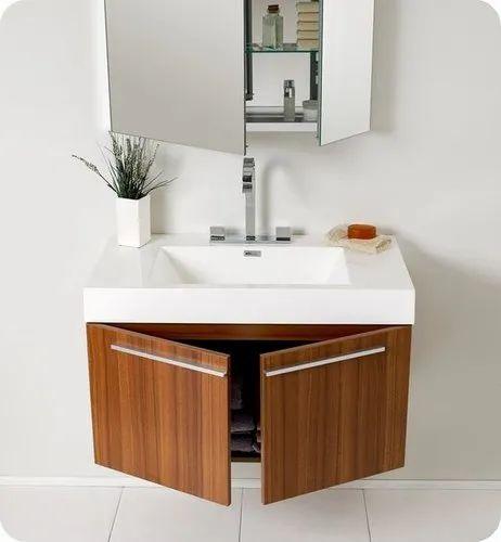 Identiqa Interiors Modern Bathroom Vanities, For Residential, Size:  Adjustable,   ID: 20866061933