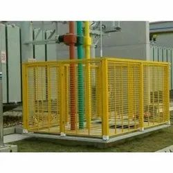 FRP Fencing, Color Coated