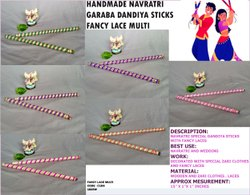 Wooden Garba Dandiya Stick - Navratri Garba stick