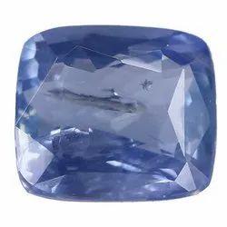 Cushion Cut Eye Clean Natural Ceylon Blue Sapphire