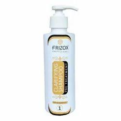 Liquid 250 mL Frizox Clarifying Keratin Shampoo Pre Treatment
