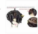 9x7 Inch Full Double Lace European Virgin Human Hair Patch