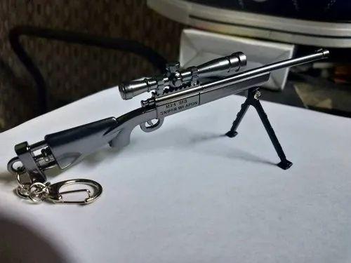 M24 Sniper Gun 18 Cm Keychain With Stand
