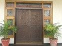 Pleated mosquito door system
