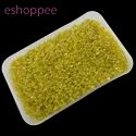 Eshoppee 1kg Yellow Color Seed Beads 8/0