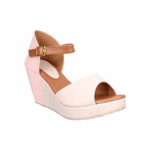 684ee4756b1 Stepee Rexine Ladies Wedges Sandals