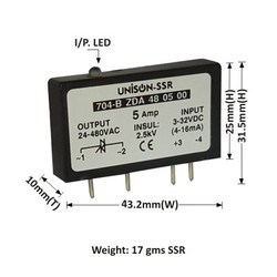 5AMP MODEL 704 DC TO AC SOLID STATE RELAY