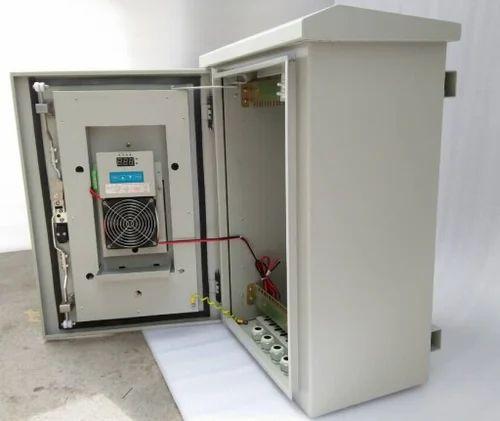 Rack Om Ip55 Outdoor Cabinets With Heat Exchanger Cooling